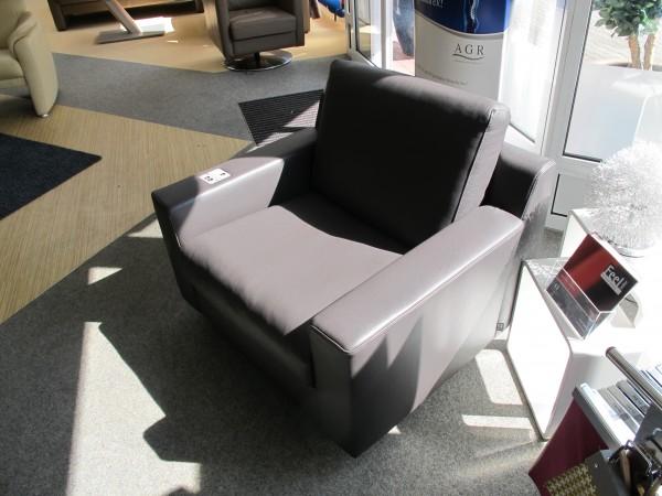 Leder Design Sessel Demo Exklusiv