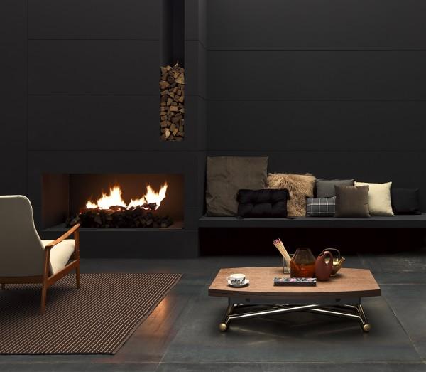 Couch /- Esstisch Carronde