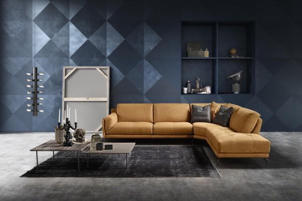 Glamour Leder Design Garnitur