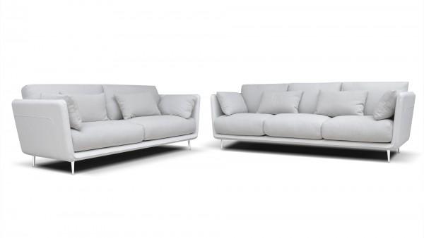 Roma Leder Design Garnitur