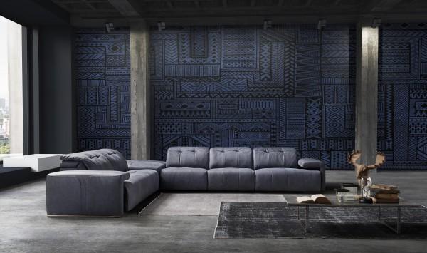 Arcadia Leder Design Garnitur