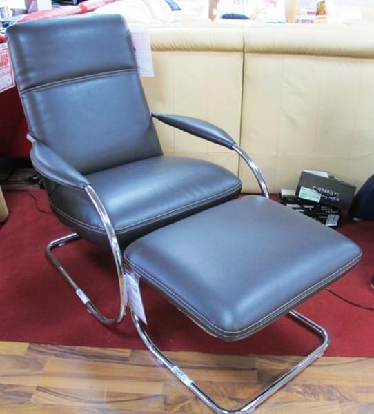 Leder Design Sessel Freischwinger Kim