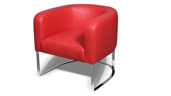 Giada Leder Design Sessel