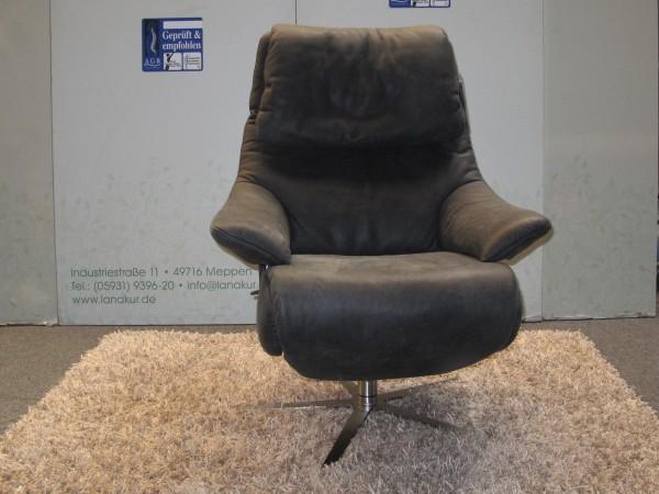 Leder Design Sessel Hope Exklusiv Polster Garnitur