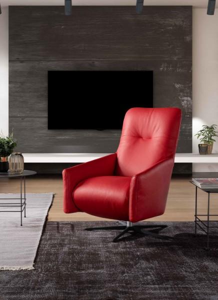 Amerigo Leder Design Sessel