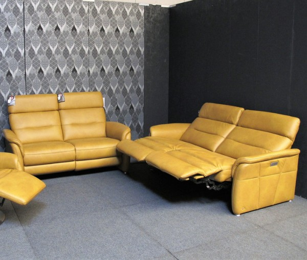 Leder Design Garnitur Marwin