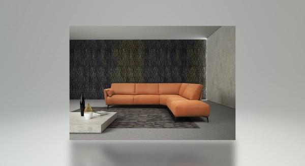 Icaro Leder Design Garnitur