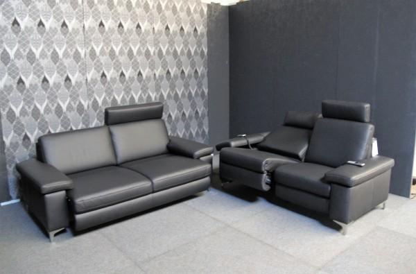 Leder Design Garnitur Charly