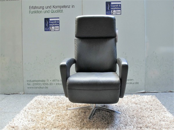 "Leder Design Sessel ""München"""