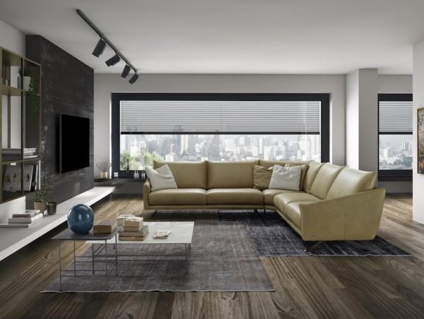 Atene Leder Design Garnitur