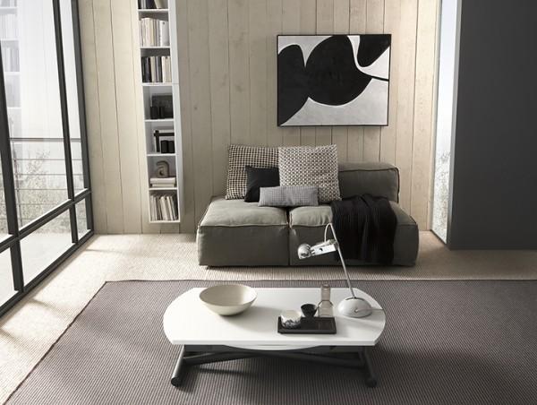 Couch /- Esstisch Redondo